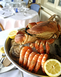 Sea Food at le Colombier